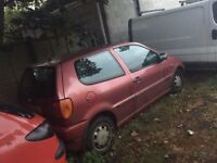 1995 Volkswagen Polo 1.4 CL Red Petrol Breaking Spares For Parts Engine All Gearbox Break