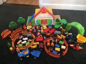 Playmobil 123 farm zoo