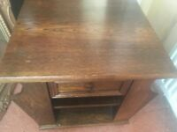 Solid wood bedside cabinet or drawer unit in good condition