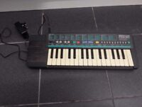 Yamaha Portasound PSS-50 Keyboard Working comes with the charger