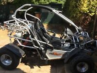 Road legal quadzilla pgo buggy 250cc