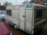 Fleurette Pop-Up Caravan
