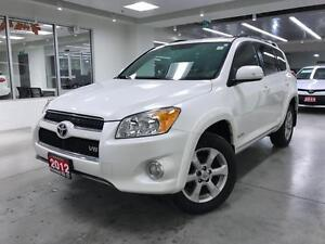 2012 Toyota RAV4 LIMITED, NAV, 5 PASS, ROOF, LEATHER, ONE OWNER,