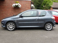Peugeot 206 Look 1.4 with upgrades