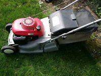 Honda hrb425c petrol lawnmower