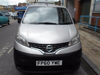 2010 NISSAN NV200 SE 15DCI CAR DERIVED VAN YEAR MOT LOW MILES ELECTRIC PACK ROOF RACK BLUETOOTH