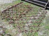 Heavy duty tractor 6ft grass harrows in very good condition