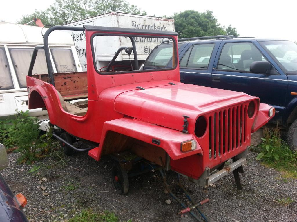Jeep Key JAGO GEEP JEEP BODY SHELL TUB + CHASSIS OFF ROAD 4x4 LAND ...