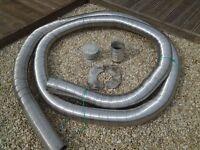 gas flue liner 5 inch 9 meters long