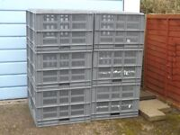 Ventilated Eurocrates (stacking)