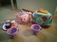 Fischer Price Tea set (talking)