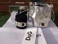 Ladies D & G Watch Genuine Diamante Bracelet Style Stainless Steel RRP£235 Womens Proof used boxed