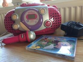 ELC CD player with sing-along microphone