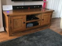 tv stand for sale really nice and solid