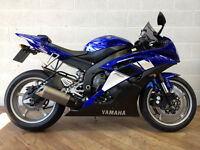 YAMAHA YZF-R6 – 2010 Blue. Excellent condition, only 4k miles