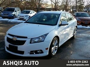 2013 Chevrolet Cruze LT Turbo RS Leather seats