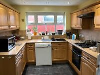 Wooden Kitchen Cabinet & Drawers for Sale, Good condition