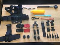 GoPro/action Camera mounts