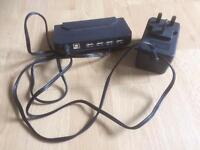 USB2 powered 4 port hub