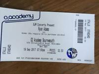 Ryan Adams ticket for Bournemouth 19th Sept