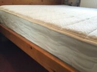 Memory Double Mattress, 1 year old. Super comfortable.