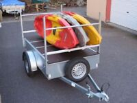 kayak and Canoe moving trailer