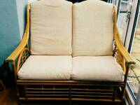 Rattan Garden Chairs and a Sofa