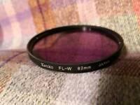Kenko 82mm FL-W filter