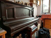 Cross Strung, Iron Frame, Upright Piano... Needs Tuning Lovely Tone