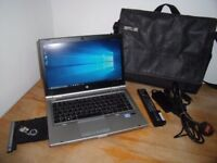 HP EliteBook 8470p Core i5 2.60GHz 500GB HDD 8GB RAM 14 Inch Screen Win 10 With Extra Battery & Case