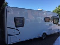2012 4berth fixed bed sterling Europa caravan hardly used immaculate.