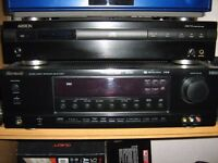 Sherwood RD-6106R 5.1 Amplifier/receiver and Ariston CDX-710 CD player for sale.