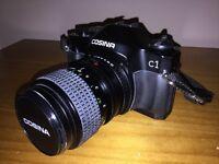 Cosina C1S SLR film camera