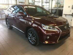 2013 RX 350 F-Sport 1 Owner PST Paid Local Trade: Navigation, B