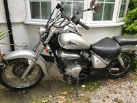 Special! Vl intruder 125 runs and mot - similar to Honda shadow virago xvs dragstar