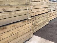 🛠£15 New Tanalised Wooden Railway Sleepers new