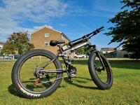 Fat Tyre Foldable Electric Bike