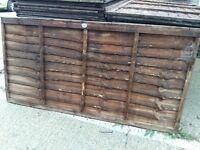 new unused 6ft x 3ft fence panels. £5 each
