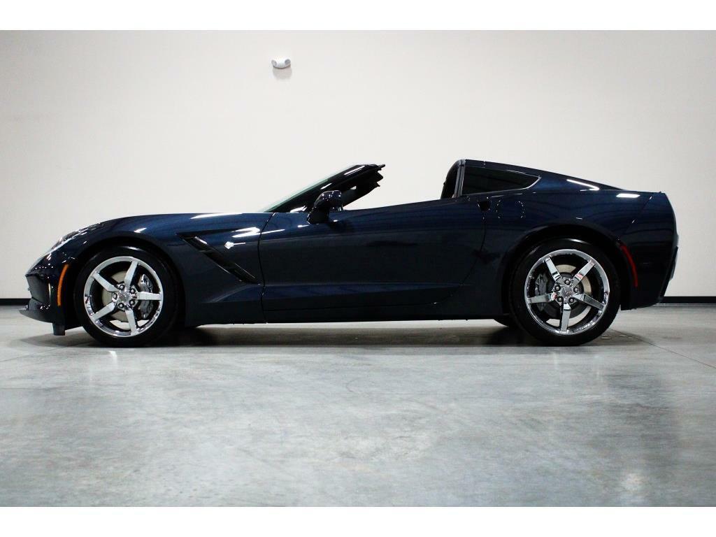 2014 Blue Chevrolet Corvette Stingray 2LT   C7 Corvette Photo 2