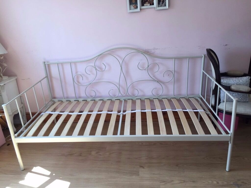 Next single bed and mattress