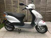 Piaggio fly 50 two stroke scooter moped