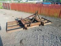 9.5 ft tractor heavy duty land leveller grader