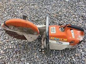 Stihl ts400 concrete block saw road saw