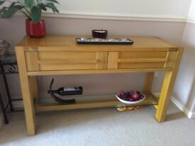 Sonoma oak marks& Spencer's console table
