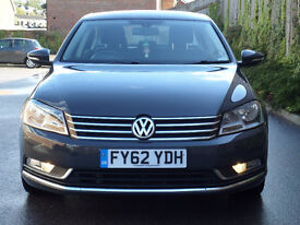 2012 VW passat. Drives like new with 5 brand new tyres(spare tyre inclusive). 30 Pound road tax