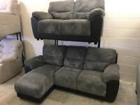 3 seater chaise with recliner end and 2 seater all only £399