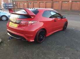Honda Civic type R2 litre petrol MOT very good condition very low mileage only 62,000 on the clock