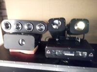 Some DJ Lights and Equipment.