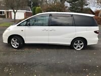 TOYOTA ESTIMA - T, 8 SEATER, AUTO,LPG, LOW MILES, GOOD CONDITION…LEICESTER!!