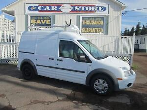 2010 Ford Transit Connect XLt W/REAR DOOR GLASS!! LADDER RACKS!!